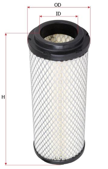 سایز فیلتر هوا